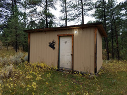 The couples cabin in Montana