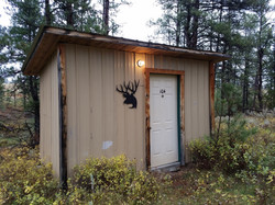 Client Cabin at the Flying X