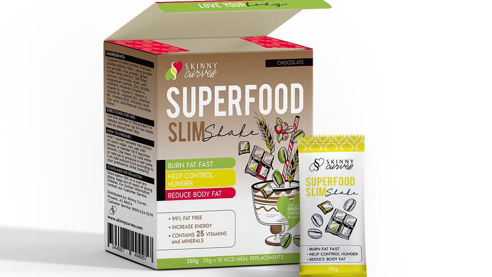 Skinny Curves Superfood Slim Shake Chocolate
