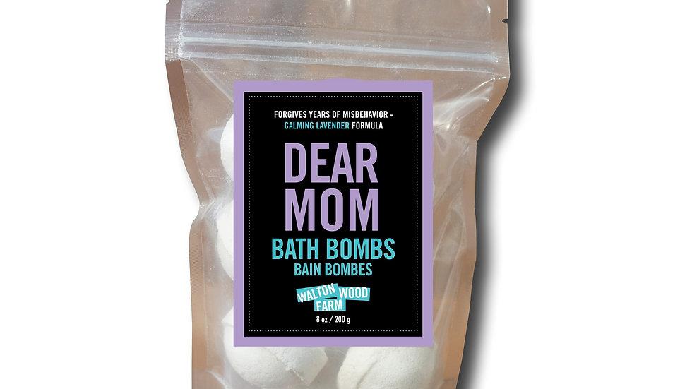 Bath Bombs - Dear Mom 8 oz