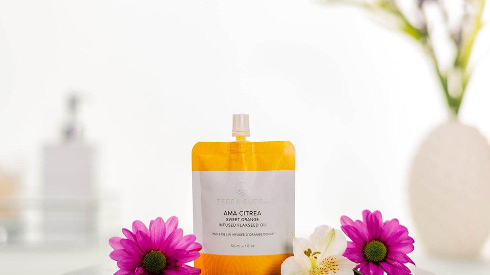 Ama Citrea Organic Body Serum With Flaxseed Oil, 50ml