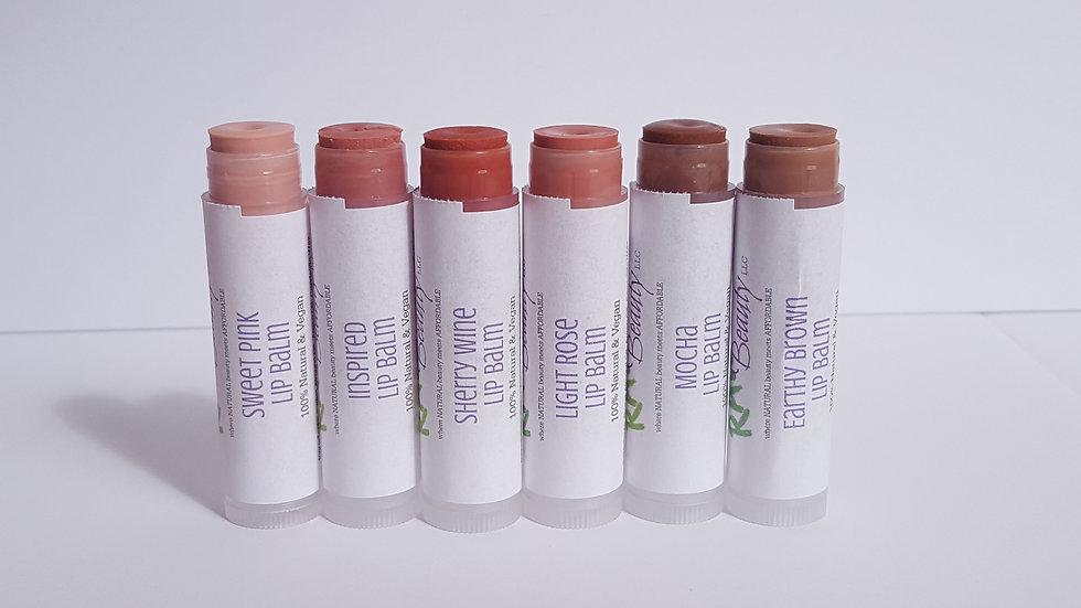 Tinted Lip Balm   Natural Tint Lip Chap   Raw Beauty Minerals