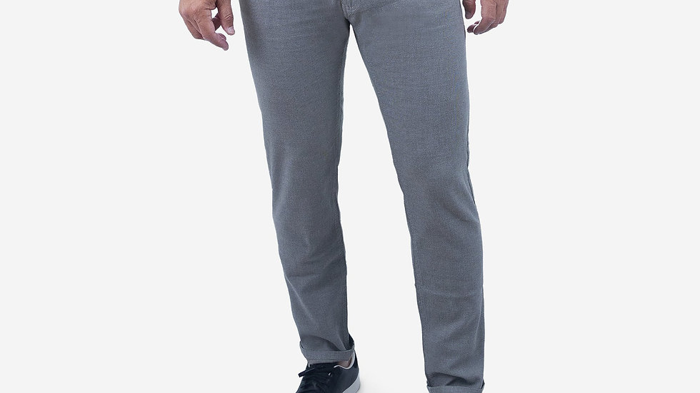 Limited Collection Smokey Grey Traveler Cotton Twill Jean