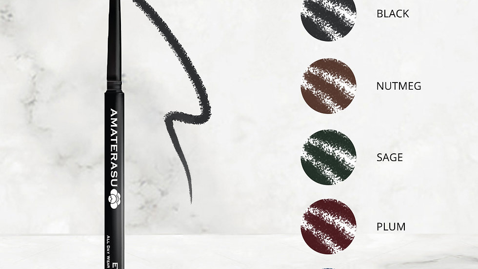 24 hour Smudgeproof Waterproof Vegan Eye Pencil