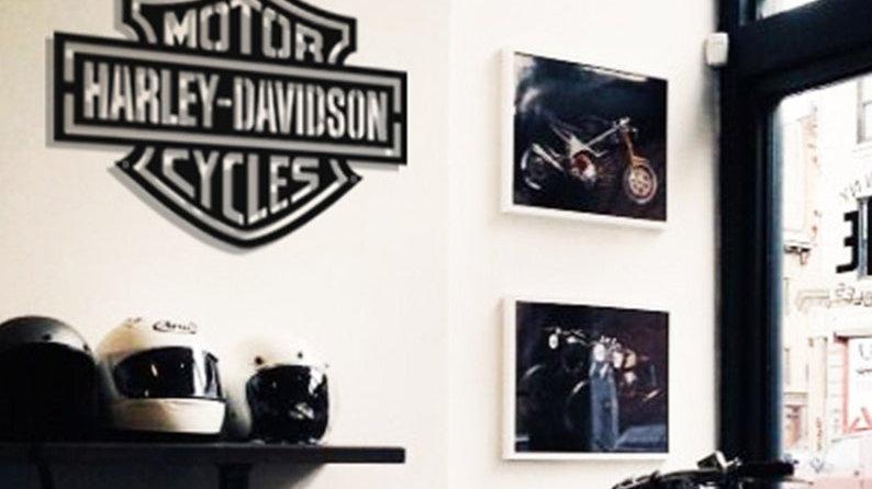 Harley Davidson Metal Wall Decor