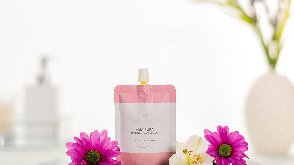 Ama Pura Organic Body Serum With Flaxseed Oil, 50ml