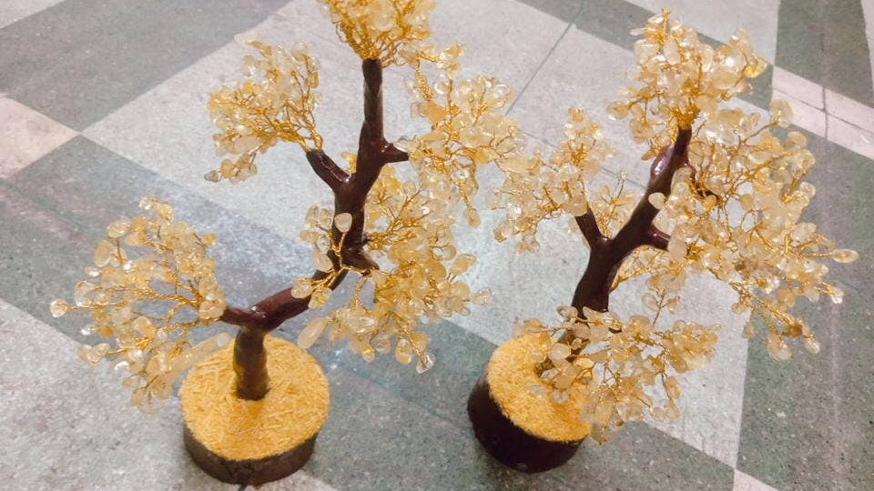 Citrine Gemstone Tree