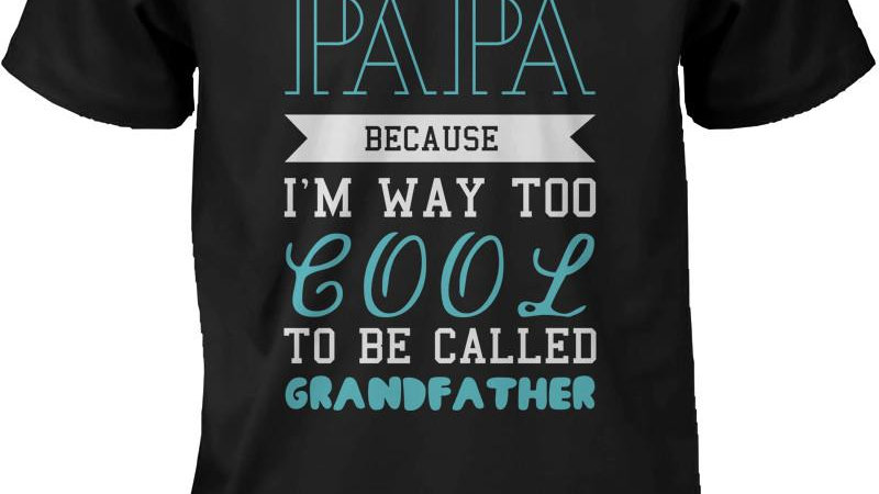 Cool to Be Called Grandfather Funny T-Shirt