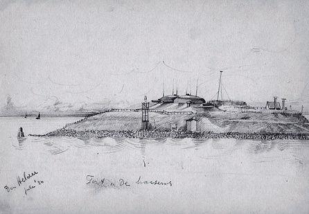 04-33 Den Helder Fort de Harssens juli 1