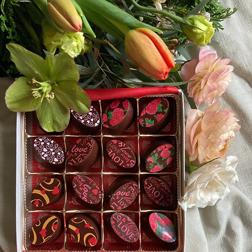 Flowers & Chocolate: Thread + Potts Chocolate