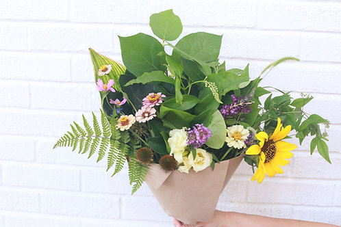 The Casual: Hand Gathered Flowers + Delivery