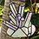 Thumbnail: Stained Glass Aura Quartz Crystal Cluster