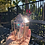 Thumbnail: Aura Crystal Dome made of Stained Glass, Boho, Healing Crystal