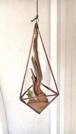 Hanging Pyramid Succulent Holder