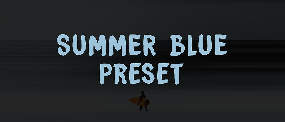 PRESET SUMMER BLUE / SUN