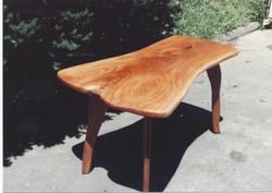 Mahogany Slab Table 2
