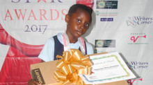 Damilola Ogunsipe Wins 3rd Place In The 2017 Rising Star Writing Competition
