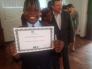 Mololuwa Adeleke Excels In Competition Organized By The British Deputy High Commission