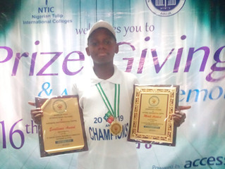 We Produced a Mathematics Scholar and Winner in Lagos State and National Level: Demilade Oluwalade