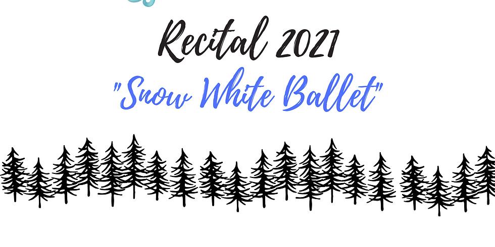 Snow White Ballet Friday June 25th