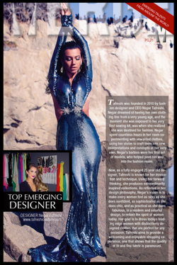 About Designer Negar Tafreshi