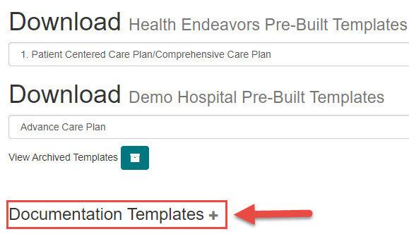 Create a documentation template.jpg