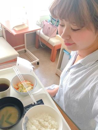 乳頭ガン⑤入院中の食事