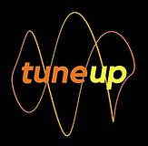 Tune Up Logo - Orange Circle Horizontal