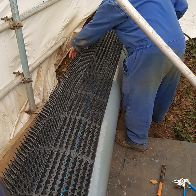 Installation on gas pipe