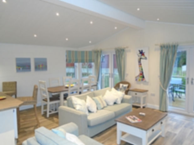 Luxury lodge holiday home South Devon
