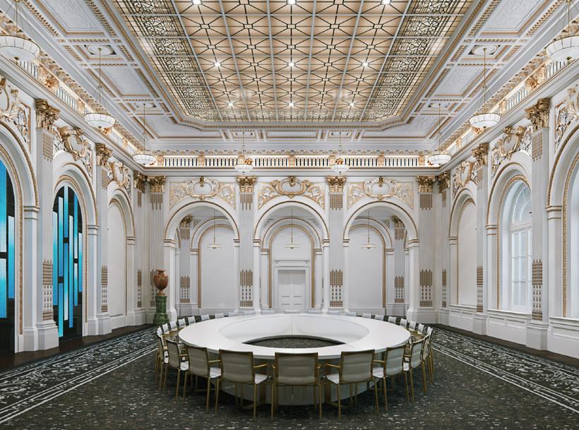New York Stock Exchange Historic Board Room Renovation