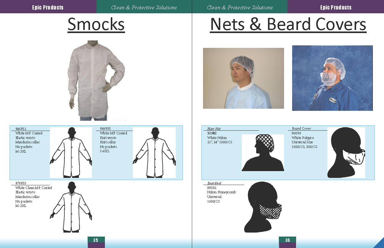 Non-Elastic Wrists Lab Coat Non-Elastic 30//cs Medium Snaps Fold-Over Collar 4 Cases