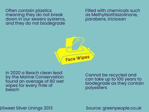 Easy Eco Bathroom Swaps – Cloth Face wipes