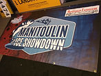 Manitouln Ice Showdown vinyl banner