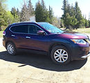 colour shift 3M 1080 gloss flip deep space nissan rogue vinyl wrap