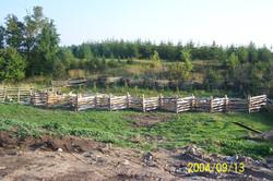 snake rail fence - shape