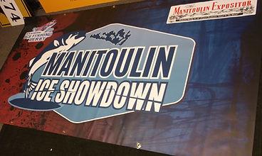 Manitoulin Ice Showdown Banner