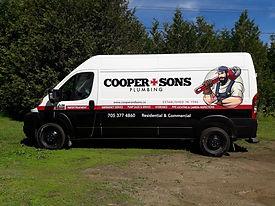 cooper sons plump vehicle partial wrap l