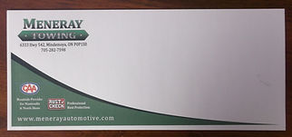 Meneray envelope by Beacon Images