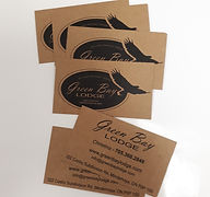 green bay lodge business cards craft sto