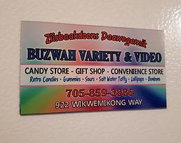 buzwah variety video gift shop fridge ma