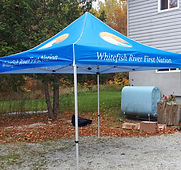 whitefish river first nation canopy tent