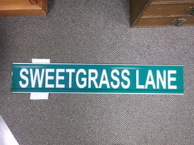 sweetgrass lane extruded aluminum street