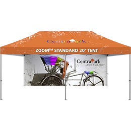 20ft display tent with full wall kit