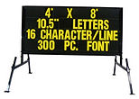 4'x8' portable changeable copy sign