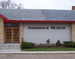 assiginack museum formed plastic letteri