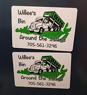 Willee's Bin - magnetic