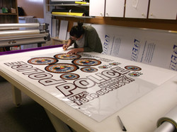 Preparing lettering & decals