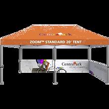 20ft display tent frame - half wall kit