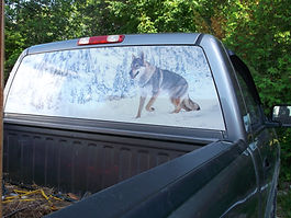 View-Thru - Rearview Window - Truck